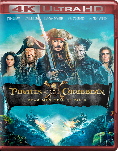 Pirates of the Caribbean: Dead Men Tell No Tales [2017] [UHD] [2160p] [Latino]