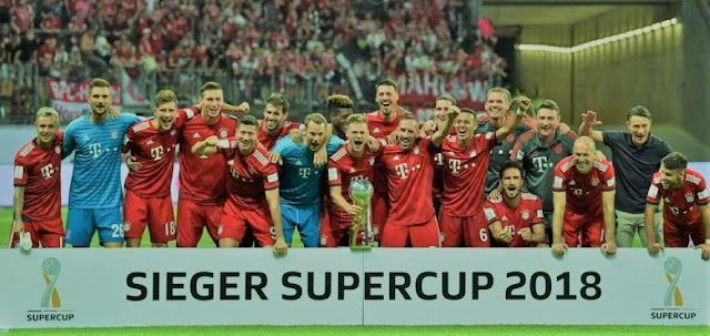 DFL- Super Cup Final : Bayern Munich Champions