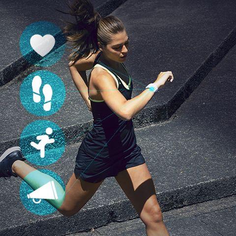miCoach Fitness Tracker