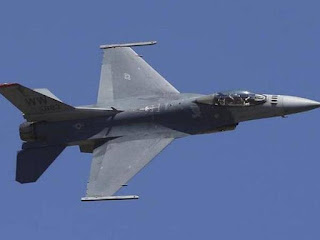 American-made F-16 fighter jet