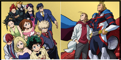 My Hero Academia: Two Heroes' Preview Colorful New Posters