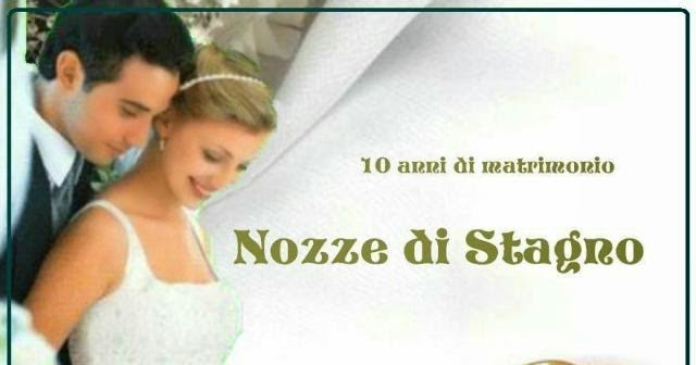 Anniversario 10 Anni Di Matrimonio.Il Matrimonio Di 10 Anno Di Matrimonio Nozze Di Stagno