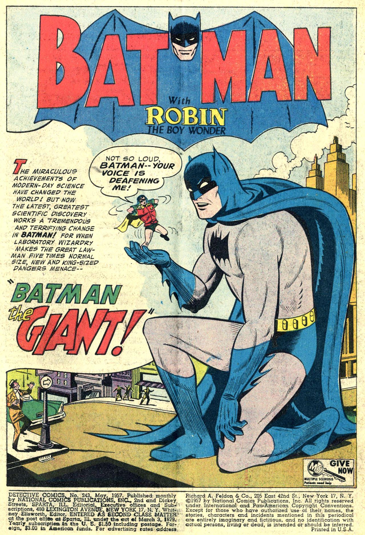 Read online Detective Comics (1937) comic -  Issue #243 - 3
