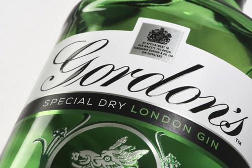 Diageo dan Design Bridge Rebranding Desain Botol dan Logo Gordon Gin