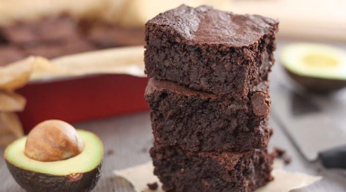 Vegan Brownies With Avocado