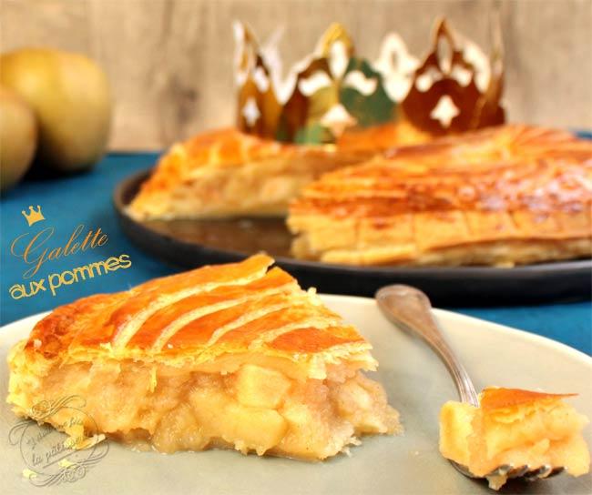 galette des rois pomme