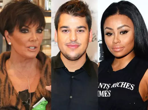 Kris Jenner offers Blac Chyna $5m to leave her son Rob Kardashian alone