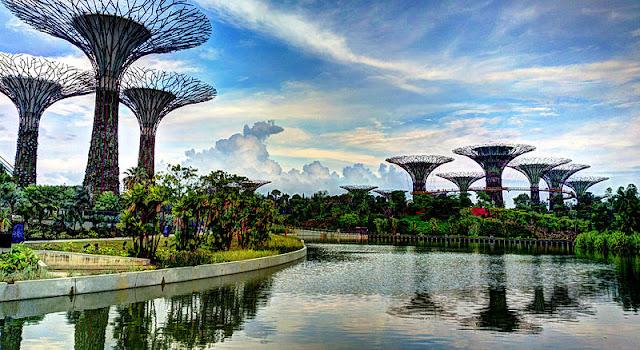 Gardens by The Bay Tempat Wisata di Singapura : tempatwisata.biz.id