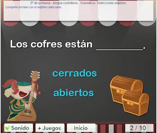 http://www.mundoprimaria.com/juegos-lenguaje/juego-seleccionar-adjetivos/