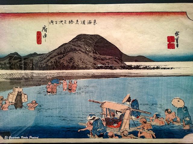 Fuchû, Utagawa Hiroshige - Museo Bilbao por EGVP