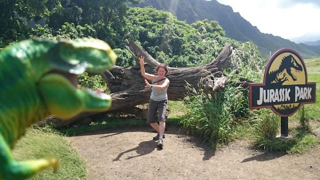 Hawaii - am Filmset von Jurassic Park auf der Kualoa Ranch