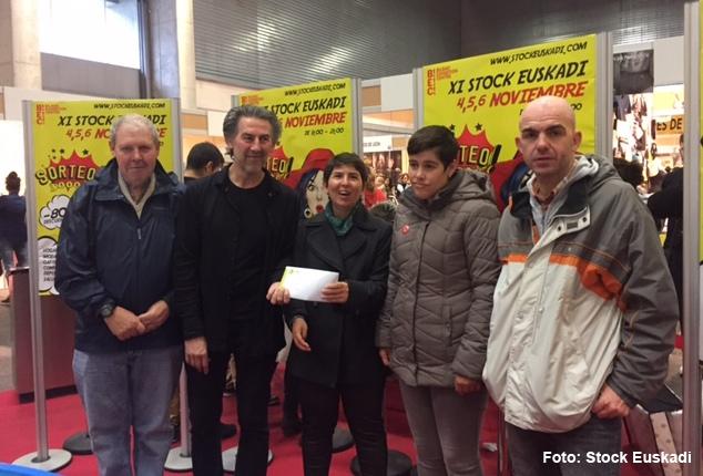 Stock Euskadi dona 3.000 euros a Gorabide