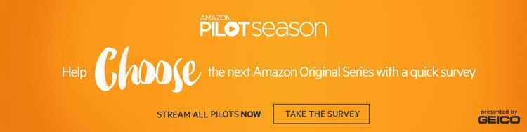Amazon's new pilot season is back with eight shows