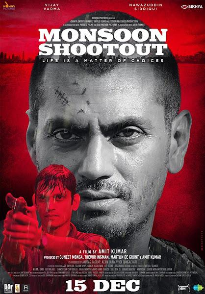 Poster of Monsoon Shootout (2013) Full Movie Hindi 720p HDRip Free Download