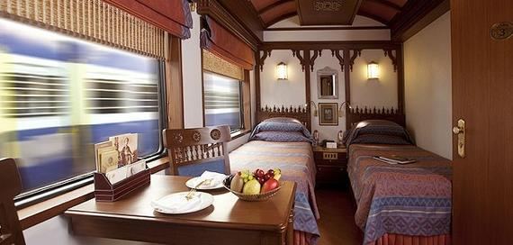 Twin Bed Deluxe Cabin, Maharajas Express