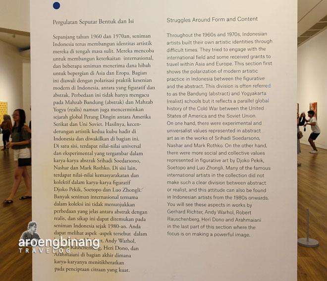 bentuk dan isi museum macan modern and contemporary art in nusantara jakarta barat