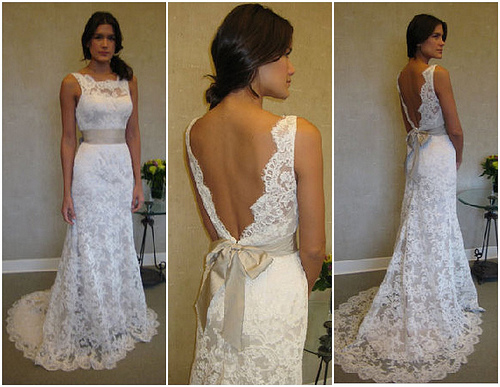 Lace Wedding Gowns: Glambox:Beautiful Make~up Is Our Hallmark!: A Peep At