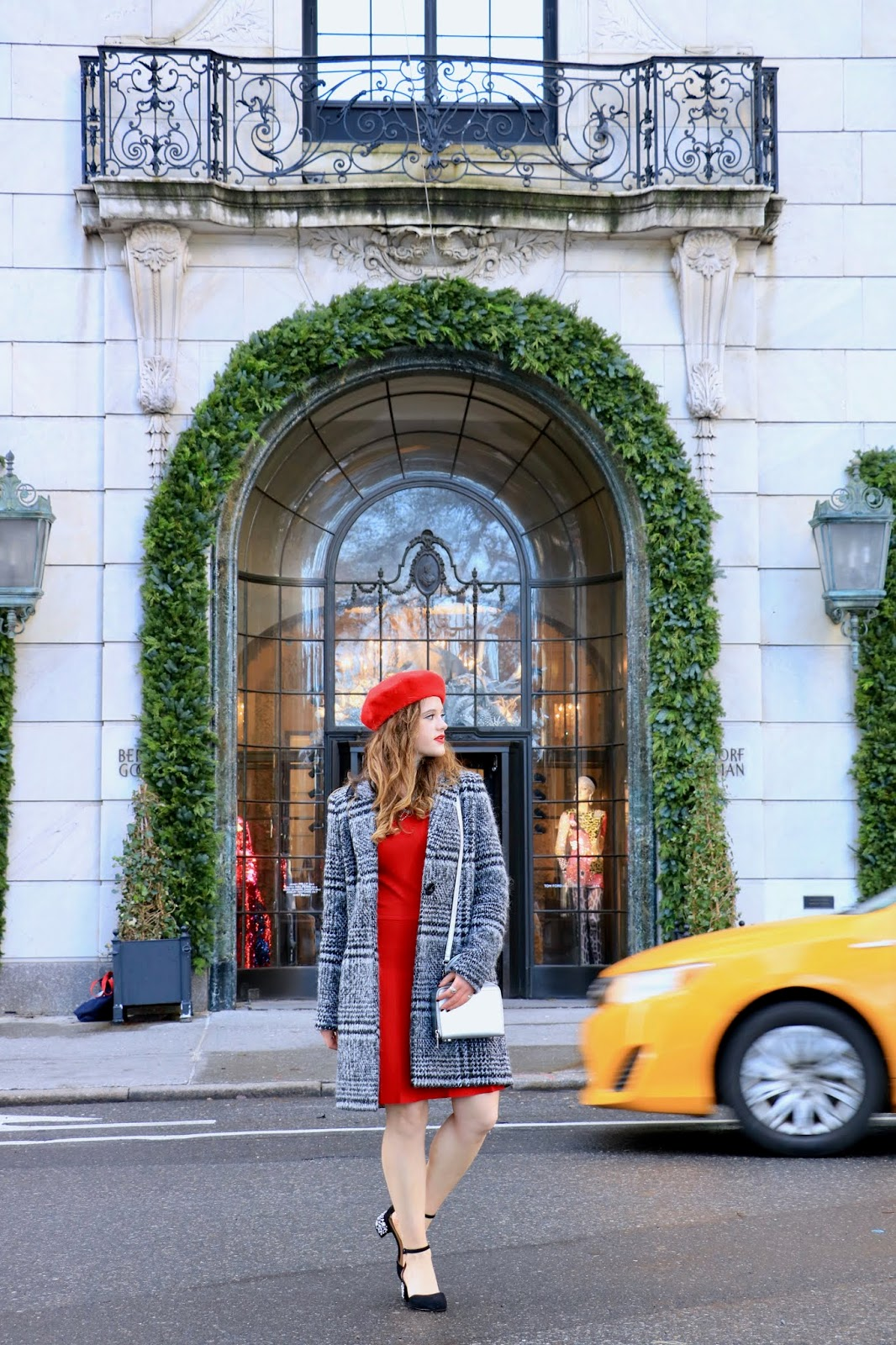Nyc fashion blogger Kathleen Harper's Christmas at Bergdorf Goodman