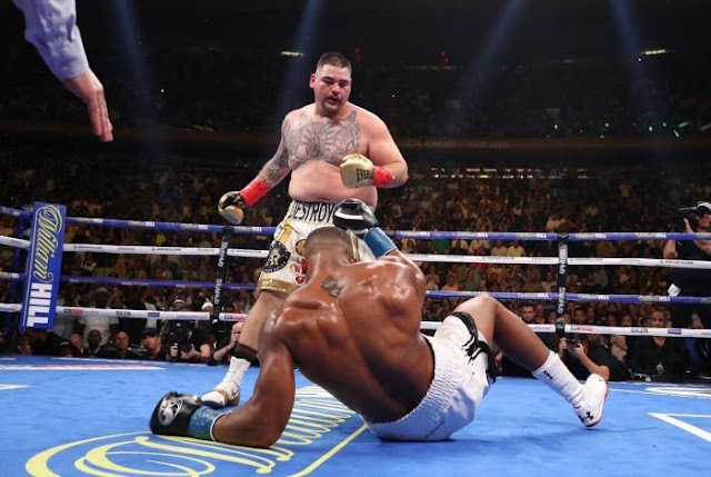 BREAKING NEWS!!! Anthony Joshua Suffers Defeat And Lose World Titles To Andy Ruiz Jr (Watch Highlights)