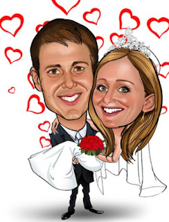 Gambar Karikatur Wedding Australia