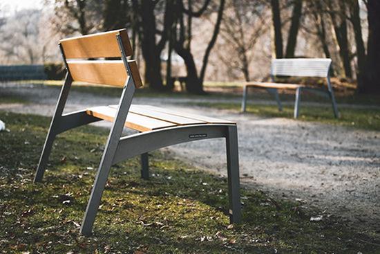 9 contoh desain unik kursi taman berdesain minimalis