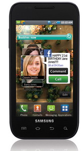 Samsung Galaxy S Fascinate 3G+ announced by Telus