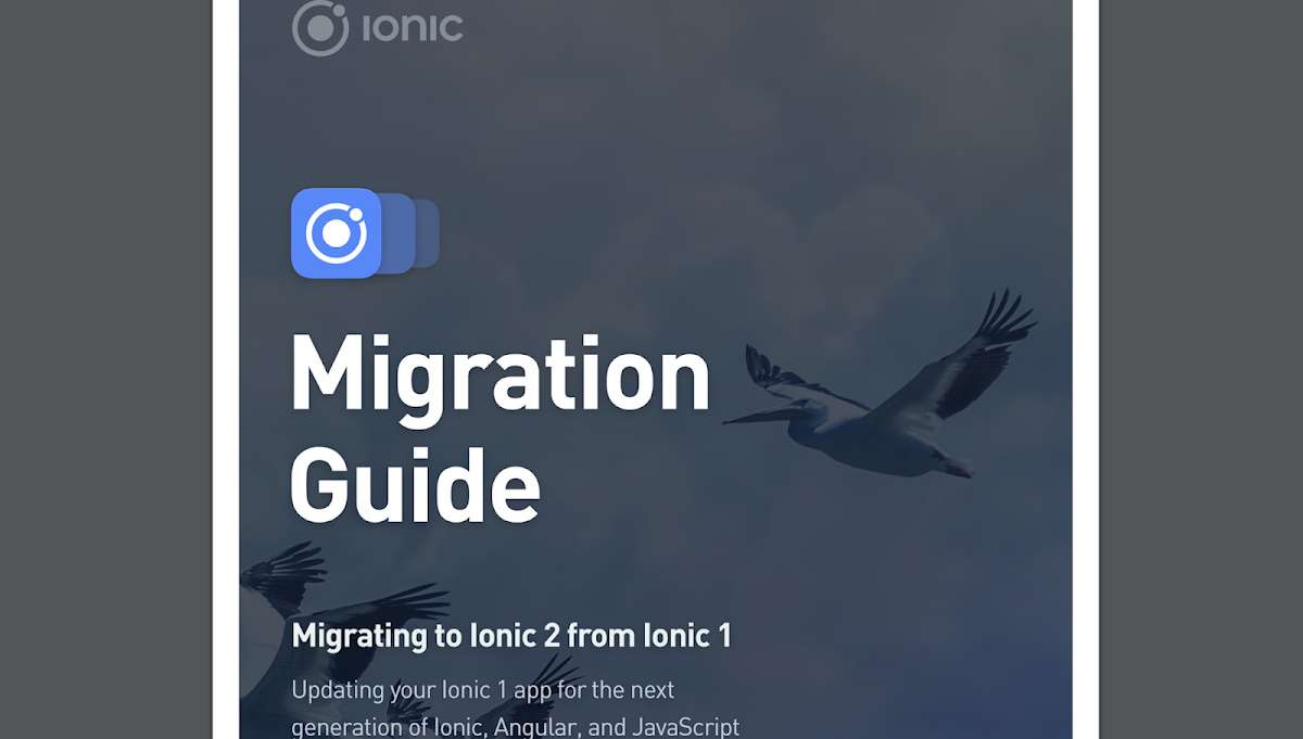 Ionic Migration documentation