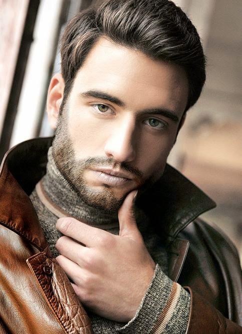 Más agudo peinados con barba Fotos de las tendencias de color de pelo - Peinados De Fiesta: Cortes de pelo para hombres con barba 2014