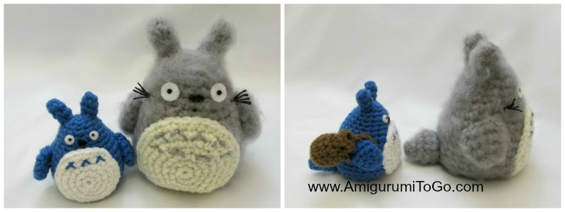Totoro and soot sprites free pattern with video amigurumi to go dt1010fo