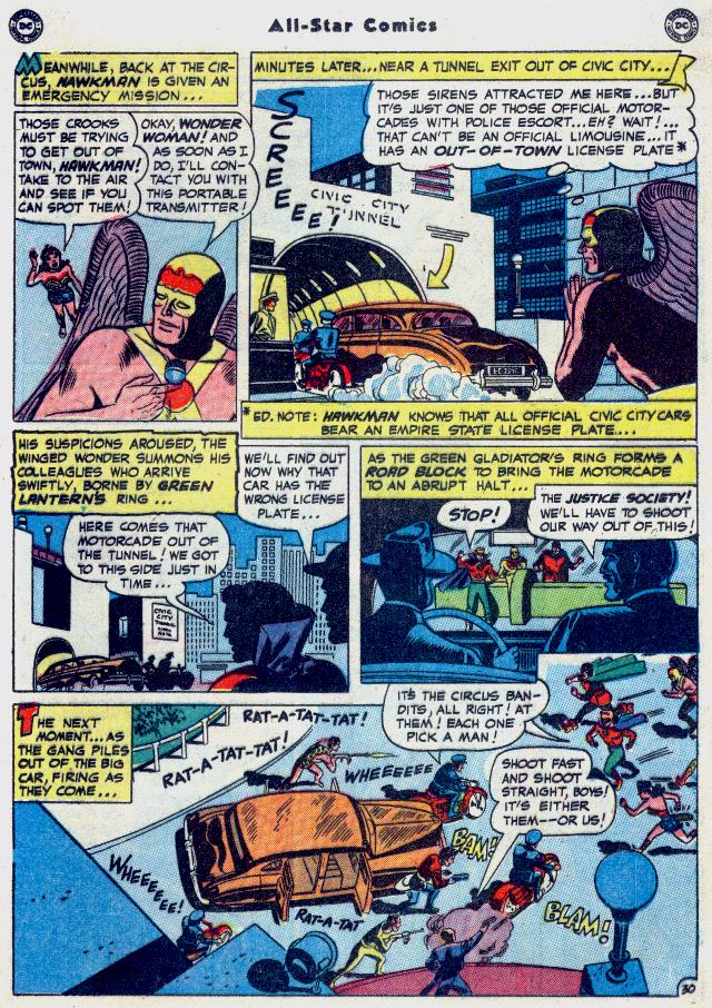Read online All-Star Comics comic -  Issue #54 - 37