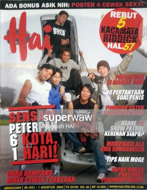 Majalah HAI: Sensasi Peterpan 6 Kota, 1 Hari!