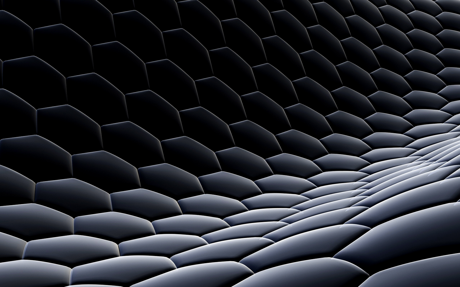3D Hexagon Blocks HD Wallpapers