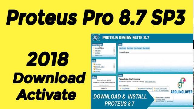 تحميل برنامج بروتوس  Proteus Professional 8.7 SP3