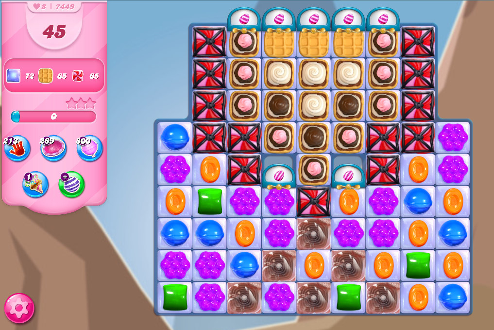 Candy Crush Saga level 7449