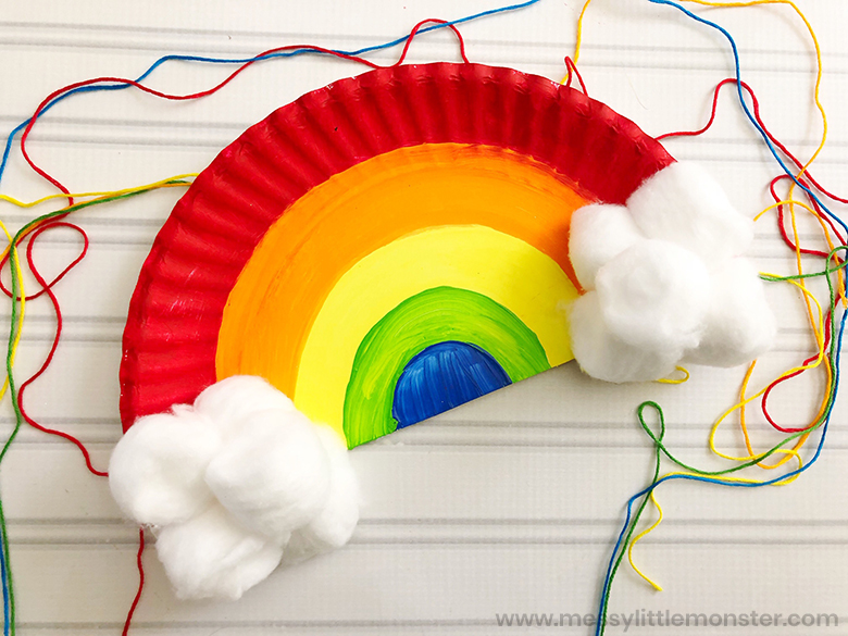 rainbow craft for toddlers and preschoolers