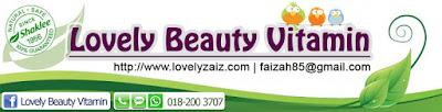 Shaklee Pilihan Terbaik | Lovely Beauty Vitamin