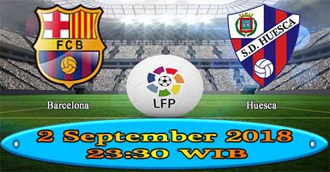 Prediksi Bola855 Barcelona vs Huesca 2 September 2018