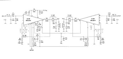 Simple Home Stereo Amplifier Circuit Diagram | Electronic Circuit Diagrams & Schematics