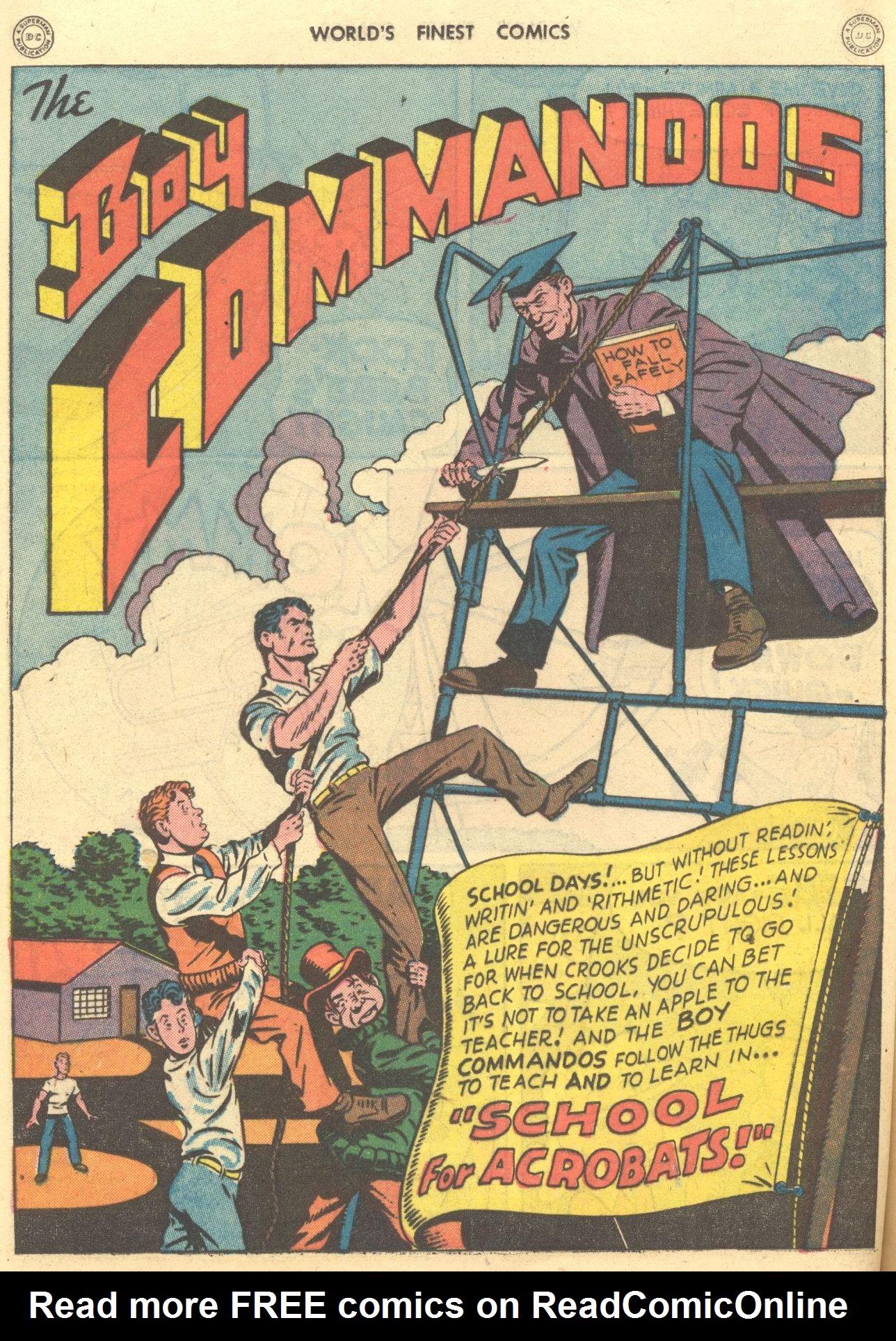 Read online World's Finest Comics comic -  Issue #28 - 29