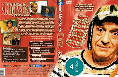 Série O Melhor do Chaves Volume 4 DVD Capa