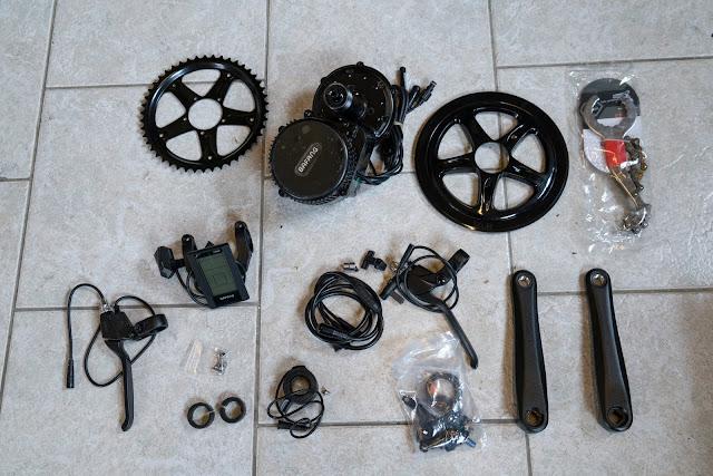 E-Bike-Umbau So baust du dir dein eigenes E-Bike mit Mittelmotor  DIY E-MTB Anleitung zum E-Bike Umbau mit Bafang BBS01 Mittelmotor E-Bike selber bauen aus altem Mountainbike 04