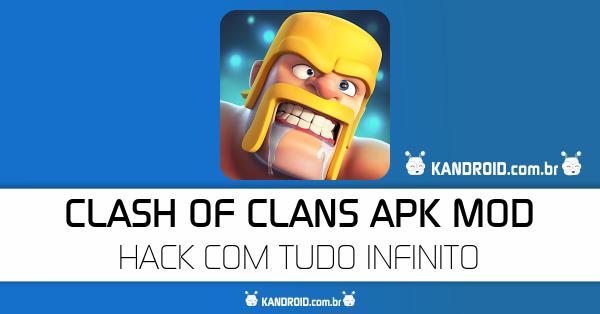 Clash Of Clans v10.134.15 Apk Mod [Coins, Elixir, Gemas]