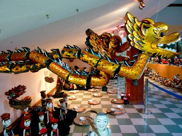 Marionetas de Agua Dragones