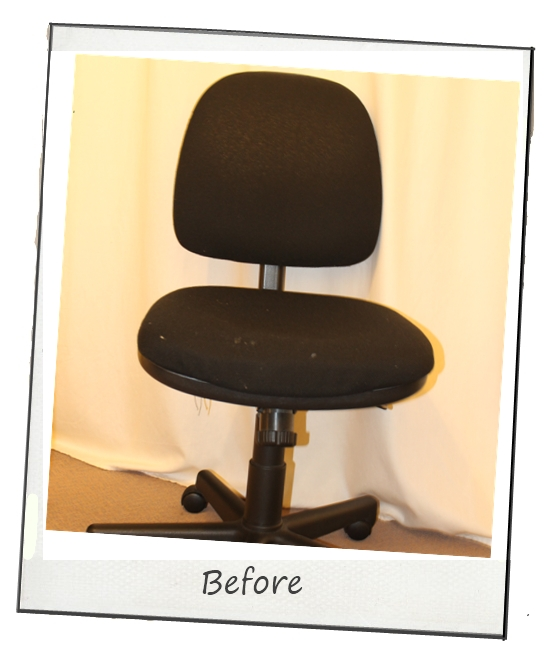 Magnolia: DIY Project: Reupholster Office Chair