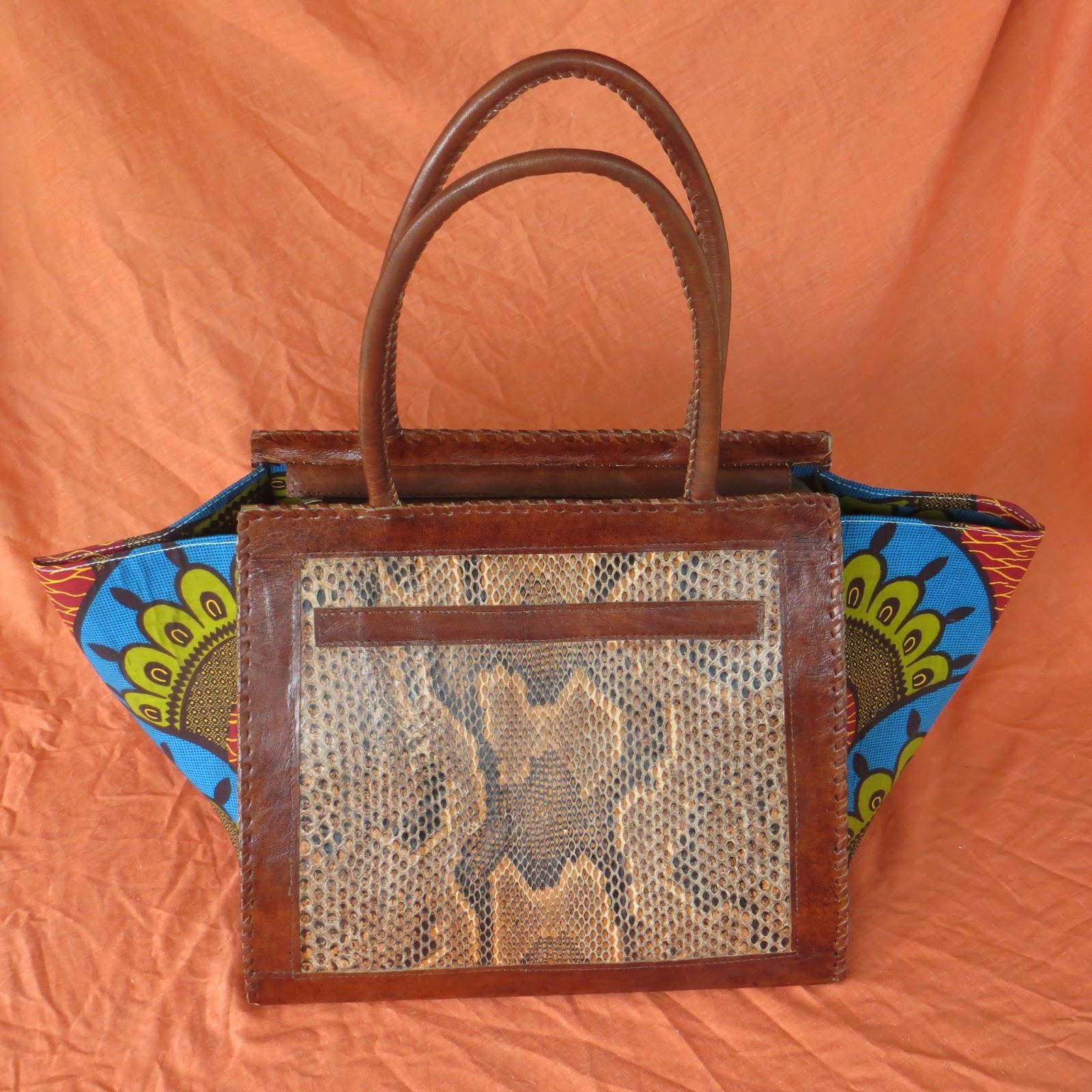 Bassa Snakeskin Handbag