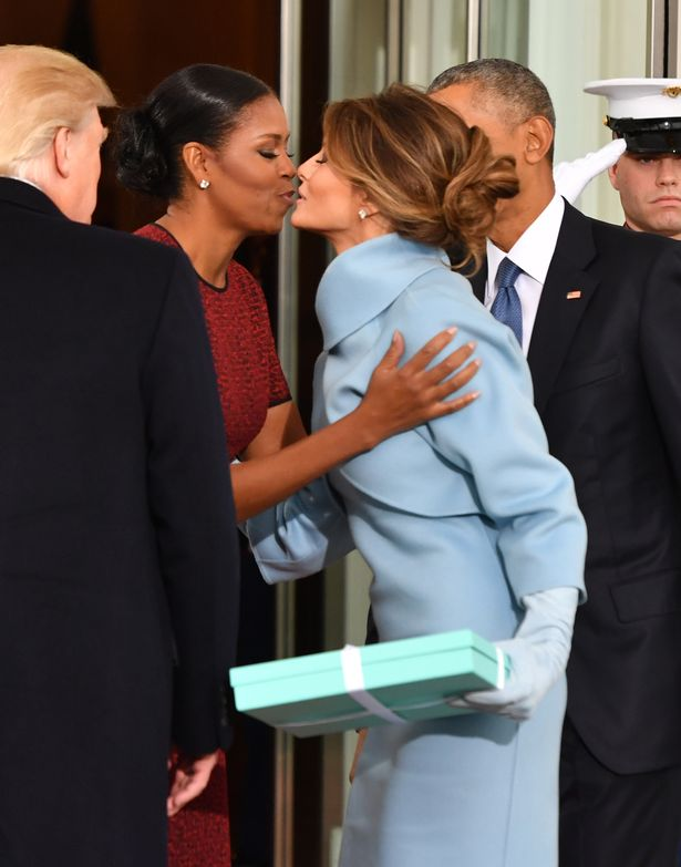 Michelle-Obama-and-Melania-Trump