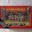 Oldschoolowy unboxing - WFB skeleton warriors regiment