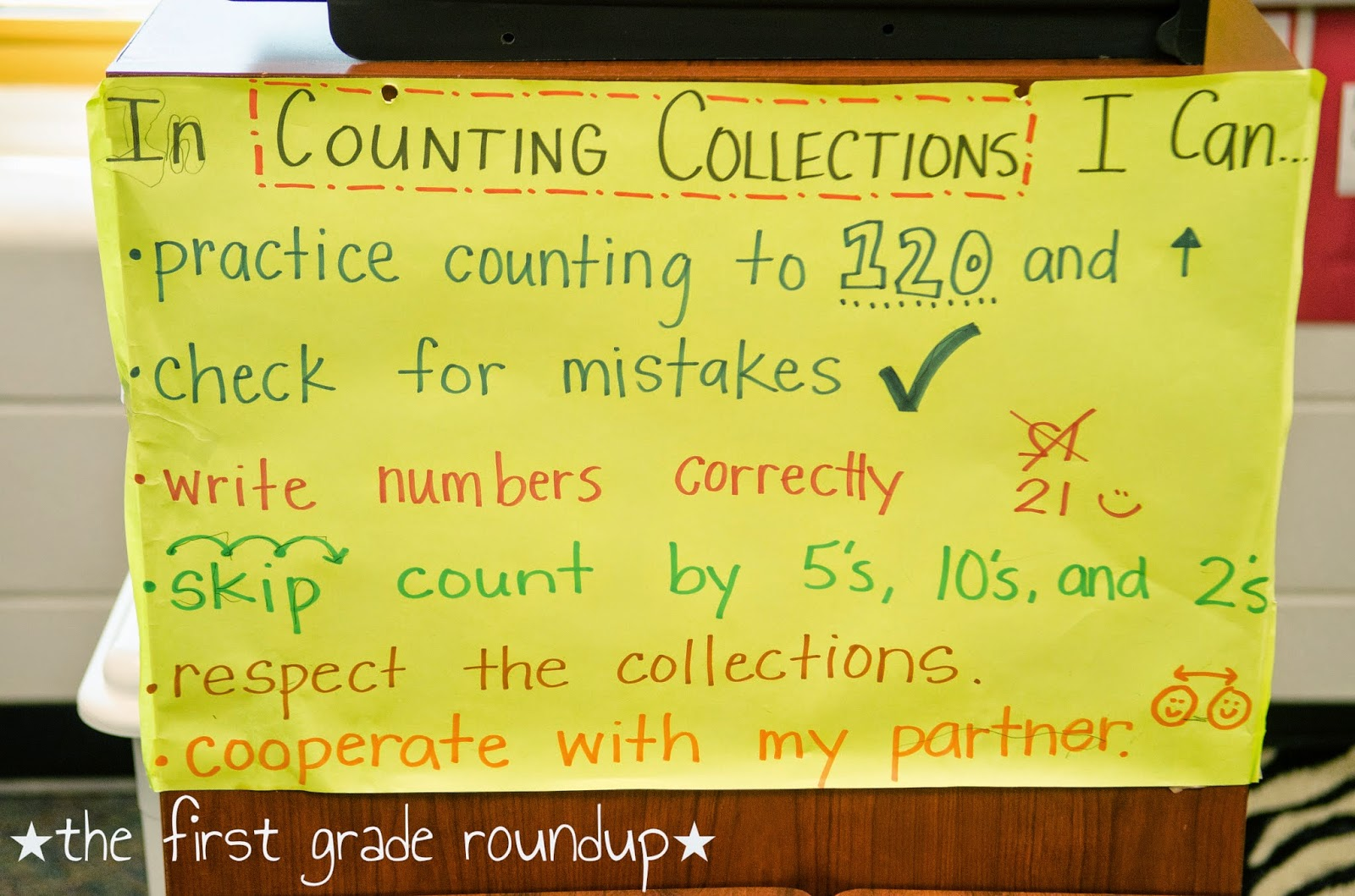Math Junkie: Counting Collections - Firstgraderoundup [ 1059 x 1600 Pixel ]