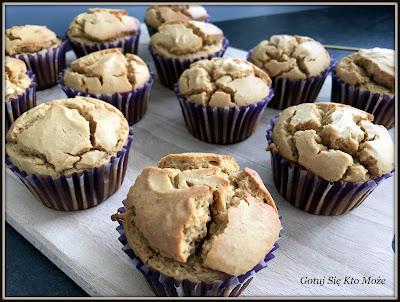 Muffinki sojowo - kukurydzi
