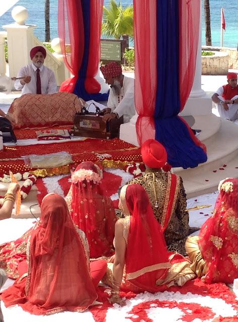 Barceló Riviera Maya Palace Sikh Wedding Priest Cancun Mexico